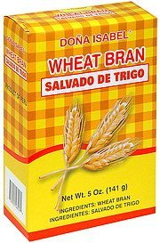 wheat bran Dona Isabel Nutrition info