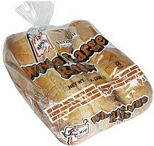 wheat large rolls Koffee Kup Nutrition info