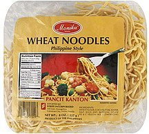 wheat noodles philippine style Monika Nutrition info