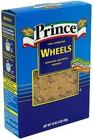 wheels Prince Nutrition info