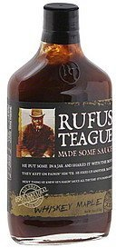 whiskey maple sauce Rufus Teague Nutrition info
