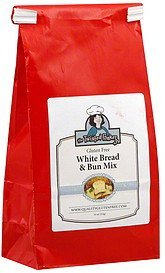 white bread & bun mix The Twisted Bakery Nutrition info