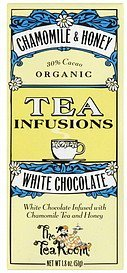 white chocolate chamomile & honey The Tea Room Nutrition info