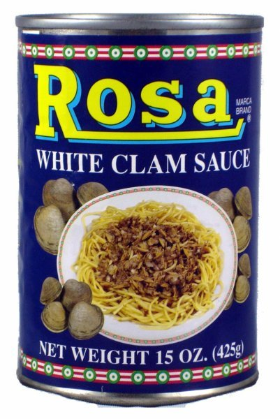 white clam sauce Rosa Nutrition info