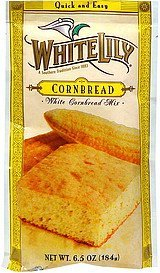 white corn bread mix White Lily Nutrition info