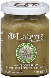 white corn sauce Laterra Artisan Harvest Nutrition info