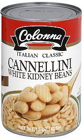 white kidney beans cannellini Colonna Nutrition info