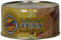 white meat tuna in spanish olive oil Hoya Nutrition info