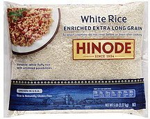 white rice enriched, long grain Hinode Nutrition info