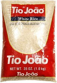 white rice long grain Tio Joao Nutrition info