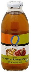 white tea with pomegranate flavor O Organics Nutrition info