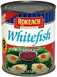 whitefish redi-jelled broth Rokeach Nutrition info