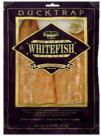 whitefish smoked fillet Ducktrap Nutrition info