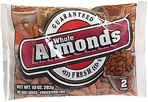 whole almonds Terri Lynn Nutrition info