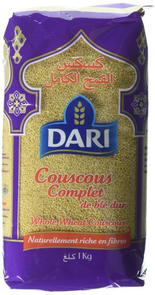 whole wheat couscous Dari Nutrition info