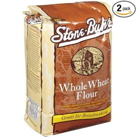 whole wheat flour Stone-Buhr Nutrition info
