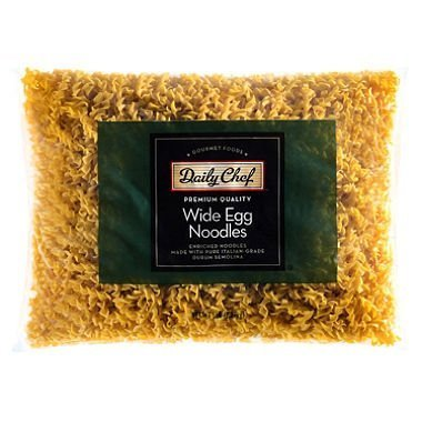 wide egg noodles Daily Chef Nutrition info