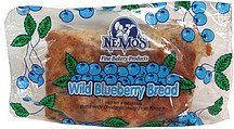 wild blueberry bread Ne Mos Nutrition info