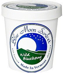 wild blueberry sorbet Blue Moon Sorbet Nutrition info