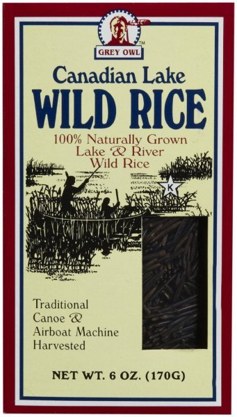 wild rice canadian lake Grey Owl Nutrition info
