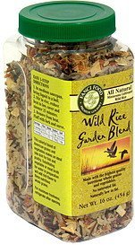 wild rice garden blend Fanci Food Nutrition info