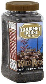 wild rice minnesota cultivated Gourmet House Nutrition info