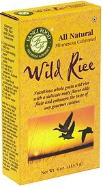wild rice Fanci Food Nutrition info
