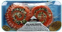 wild salmon pinwheels with spinach, feta & roasted red bell pepper Sonoma Seafoods Nutrition info