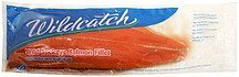 wild sockeye salmon fillet Wildcatch Nutrition info