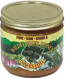 wildflower honey Dawes Hill Nutrition info