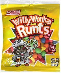 willy wonka runts Shari Candies Nutrition info