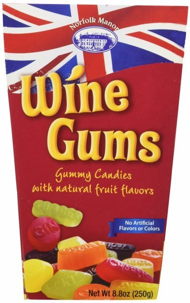 wine gums Norfolk Manor Nutrition info