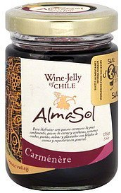 wine-jelly carmenere AlmaSol Nutrition info