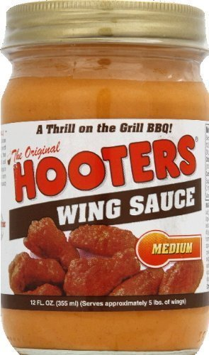 wing sauce medium Hooters Nutrition info