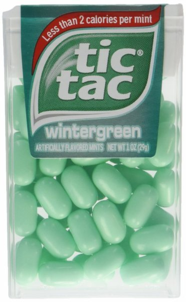 wintergreen Tic Tac Nutrition info