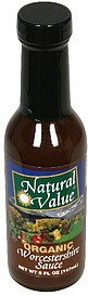 worcestershire sauce organic Natural Value Nutrition info