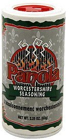 worcestershire seasoning Panola Nutrition info