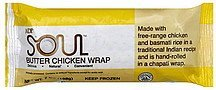 wrap butter chicken Soul Nutrition info