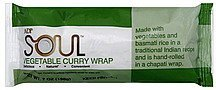 wrap vegetable curry Soul Nutrition info