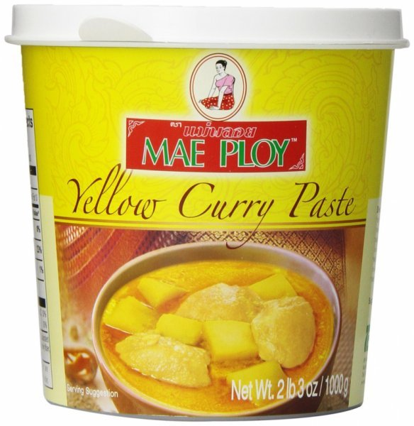 yellow curry paste Mae Ploy Nutrition info