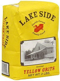 yellow grits Lake Side Nutrition info