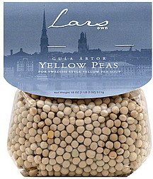 yellow peas Lars Own Nutrition info