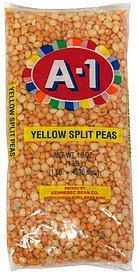 yellow split peas A-1 Nutrition info