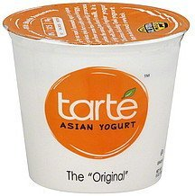 yogurt asian, the original Tarte Nutrition info