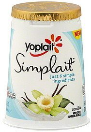 yogurt vanilla Yoplait Nutrition info