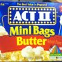 Act II popcorn-mini bags butter, halloween Calories