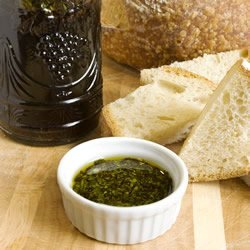 Spicy Oil and Vinegar Bread Dip