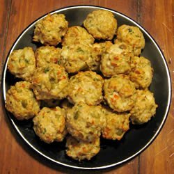 Feta and Olive Meatballs