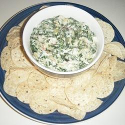 Best Ever Spinach Artichoke Dip