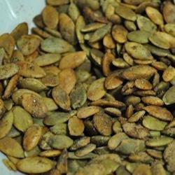 Pumpkin Seeds with Cinnamon and Salt